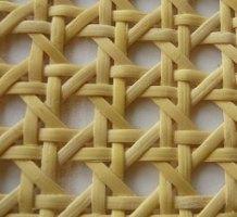 Španska trska i tonet materijal